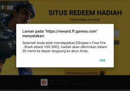 Kode Redeem FF 30 September 2020